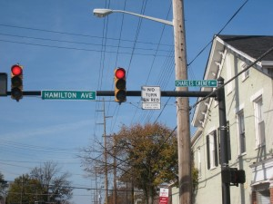 A portion of Hamilton Avenue in Mt. Healthy renamed to commemorate local abolitionist Charles Cheney.