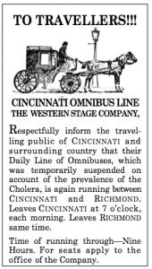 Cincinnati Omnibus ie