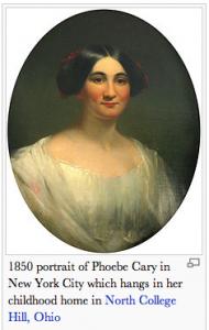 Phoebe Cary