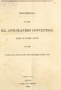 alton anti-slavery conventon