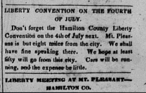 crop of liberty convention notice 1842