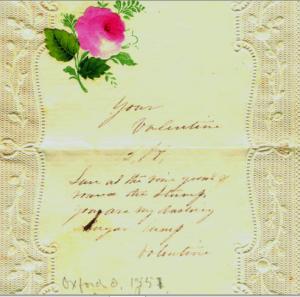 valentine 1851 b. harrison
